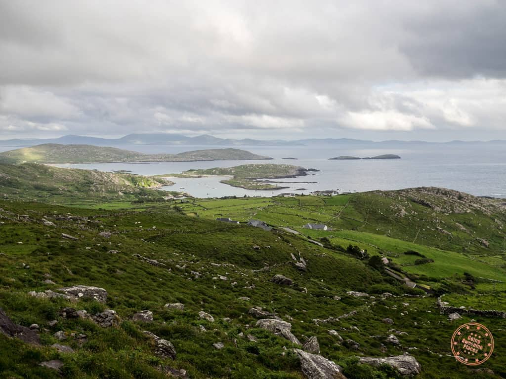 view from skellig ring ireland road trip