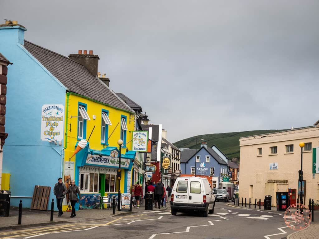 downtown dingle streets in 7 day southern ireland itinerary road trip