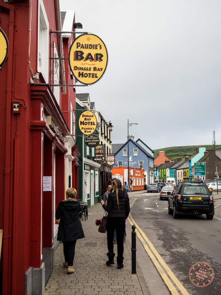 Streets of Downtown Dingle