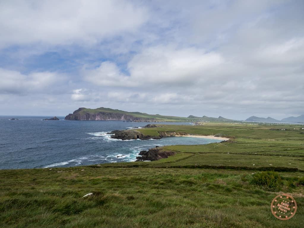 The Incredible Views on Slea Head Drive with Blasket Islands Behind