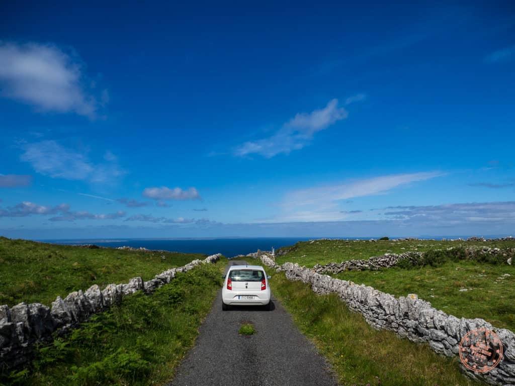 Single Lane Roads In The Burren