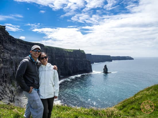 Standing with the Cliffs of Moher