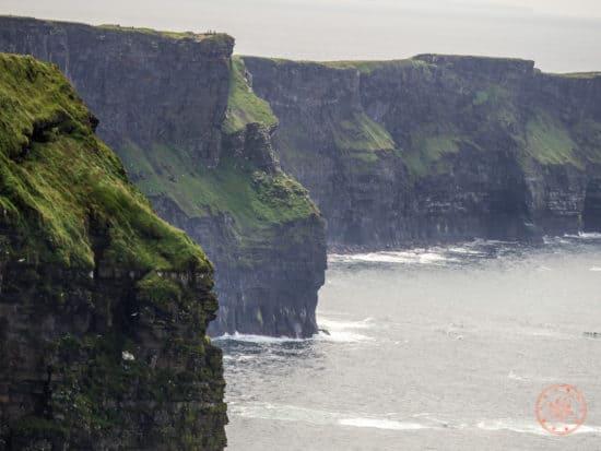 Cliffs of Moher Depth of Field Shot