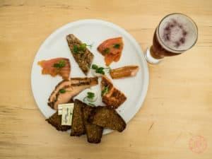 The Burren Storehouse Sample Platter of smoked fish