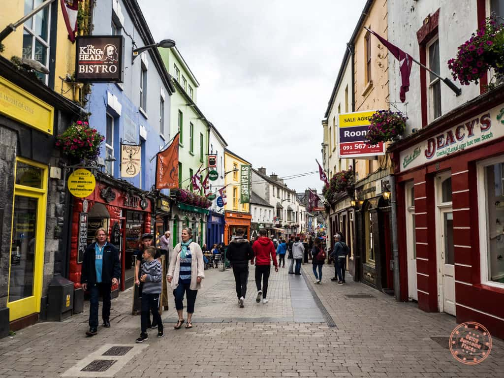 Pedestrian Streets of Galway