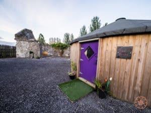 Galway Glamping Mongolian Yurt