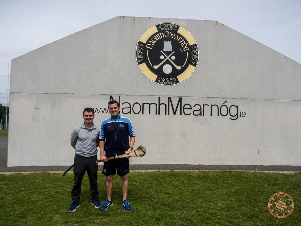 Neil and Gareth from Clash Gaelic Games in southern ireland in 7 days