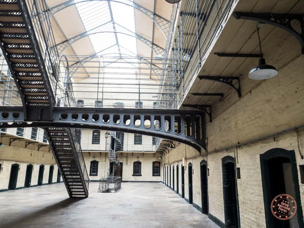 Inside The Kilmainham Gaol Prison