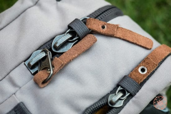 Cotopaxi Nazca Zipper Security Feature
