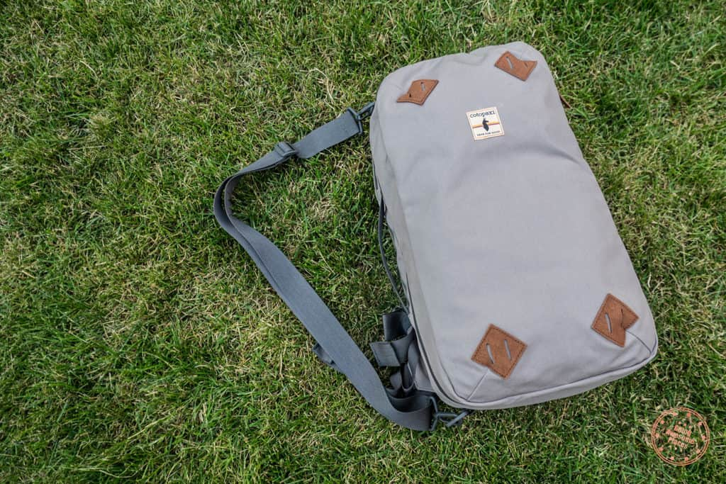 Cotopaxi Nazca 24L Travel Pack on grass