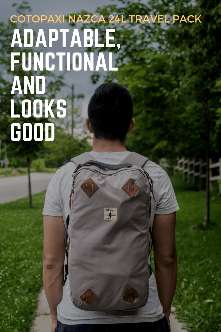Finding the perfect travel bag is tough and when it comes to overnight trips, weekend adventures, and work trips, there's the in between of regular backpacks and suitcases that isn't easy to fill.  That's where the Cotopaxi Nazca 24L travel pack which fills that void perfectly and is incredibly versatile being able to transform between backpack and messenger.