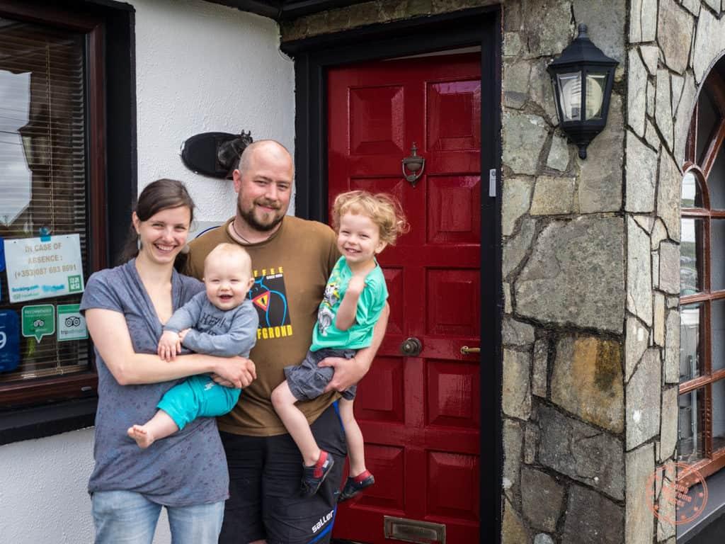Slieve Elva B&B Owners in Ireland