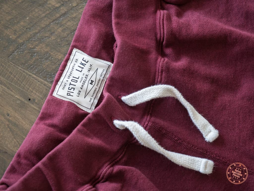 Pistol Lake Sweat Shorts in French Terry