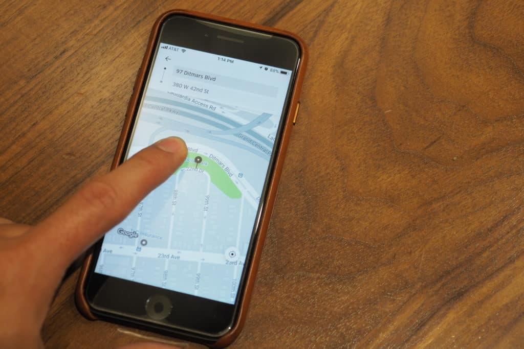 Uber Airport Hack - Change Pickup On App