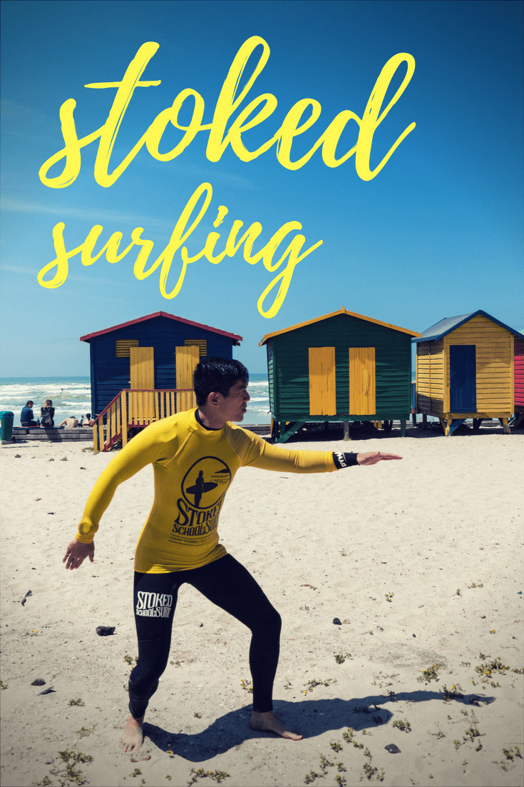 A Stoked Surfing Experience in Muizenberg