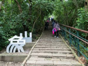 Stairs of Elephant Mountain Xiangshan