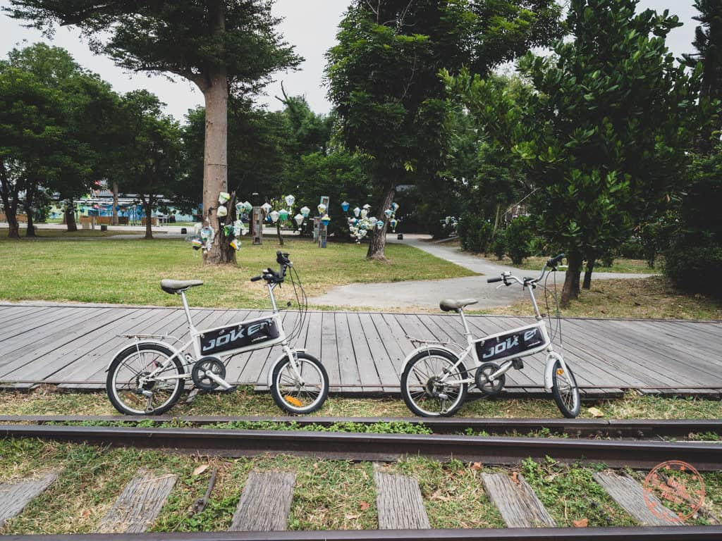 Riding Bicycles in Taitung