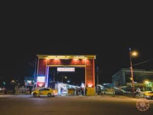 Dongdamen Night Market Gate in Hualien