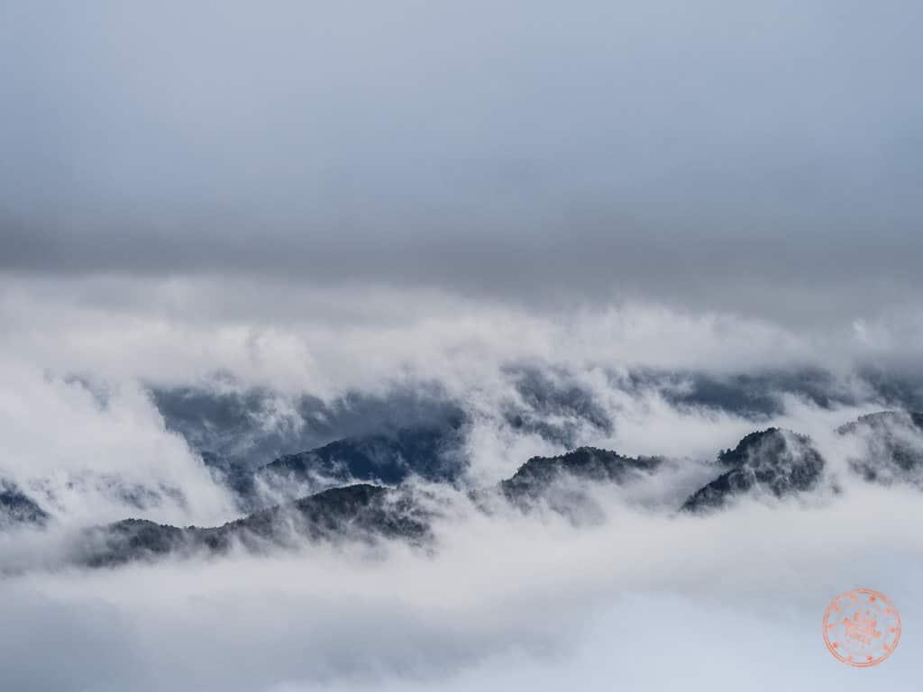 Alishan sea cloud view from Chusan