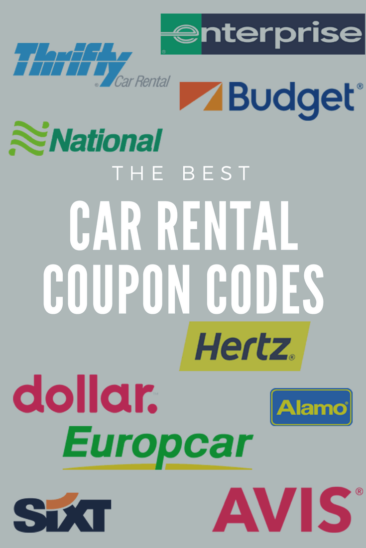 Best Car Rental Coupon Codes in 2020 To Save You Money