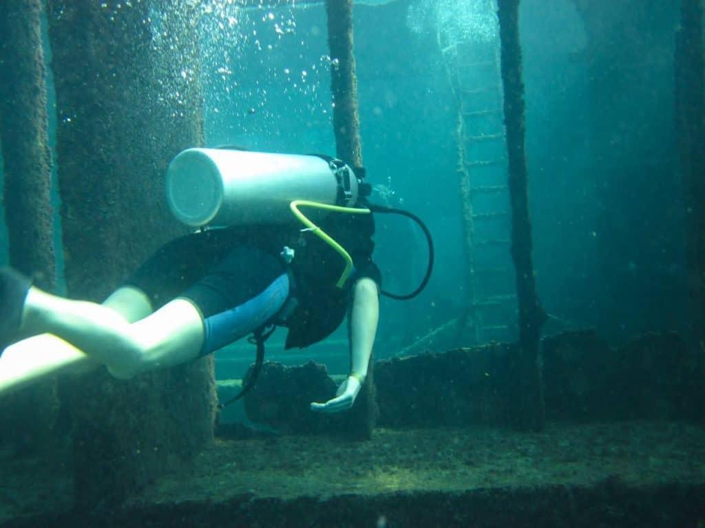 Dominican Republic wreck dive