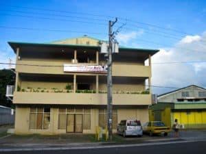 West Plaza Malakal Hotel in Palau Front Entrance