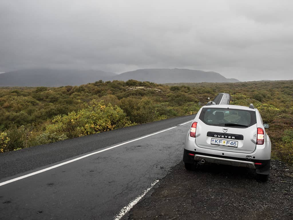 Renting an SUV in Iceland with Blue Car Rental