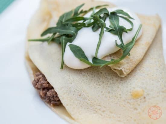 Louis's pancake for breakfast