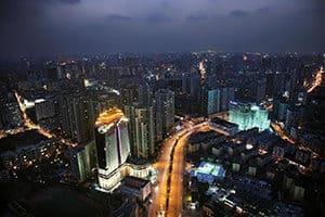 courtyard by marriott xujiahui shanghai exterior aerial
