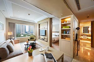 ifc residence suite in pudong