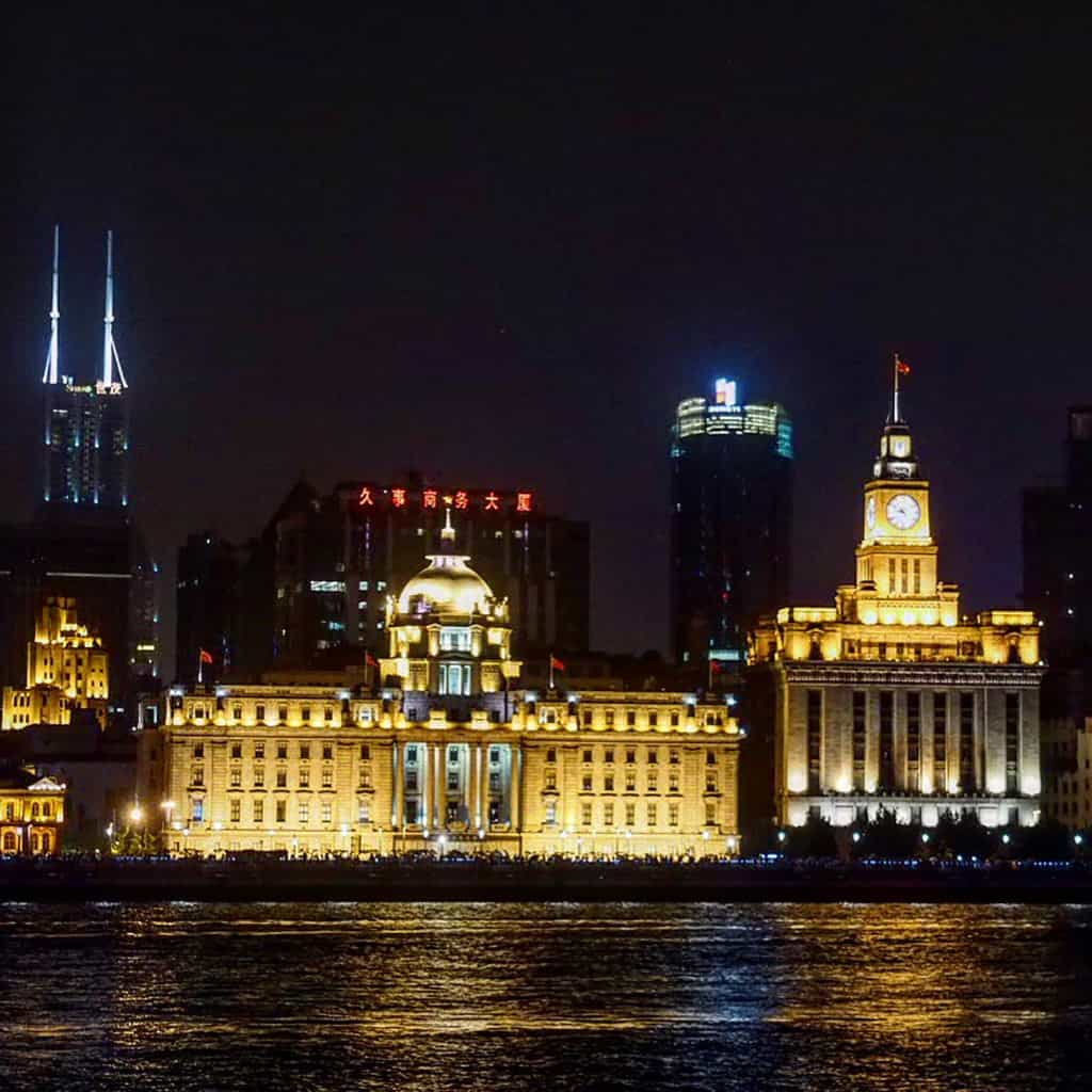 Shanghai bund is one of the places to stay as part of the Shanghai neighbourhood guide