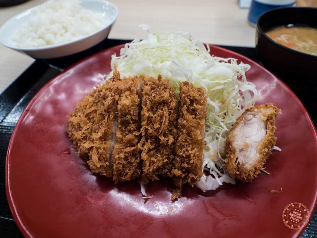 tonkatsu from katsuya