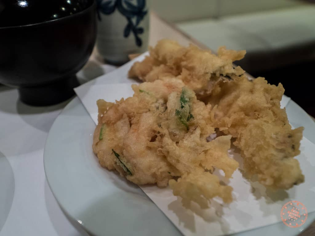 kakiage at tempura tsunahachi