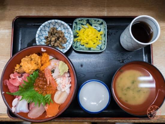 nakaya sashimi rice bowl tray