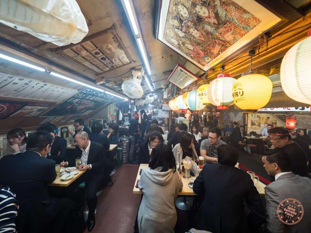 inside yakitori ton ton