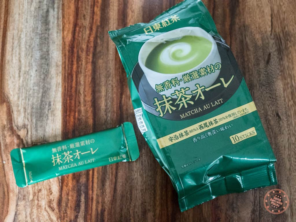 instant matcha green tea powder from japan