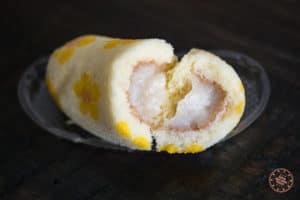 tokyo banana open to show filling inside