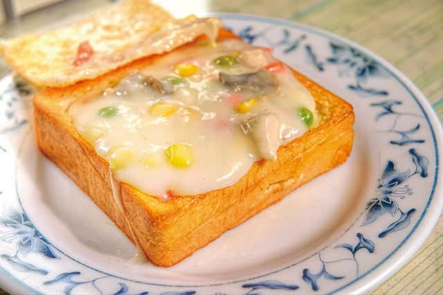 coffin bread toast from taiwan