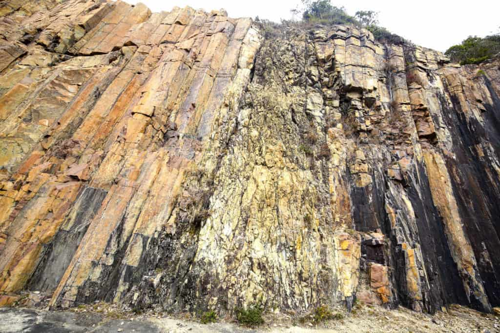 sai kung geopark volcanic rock formations