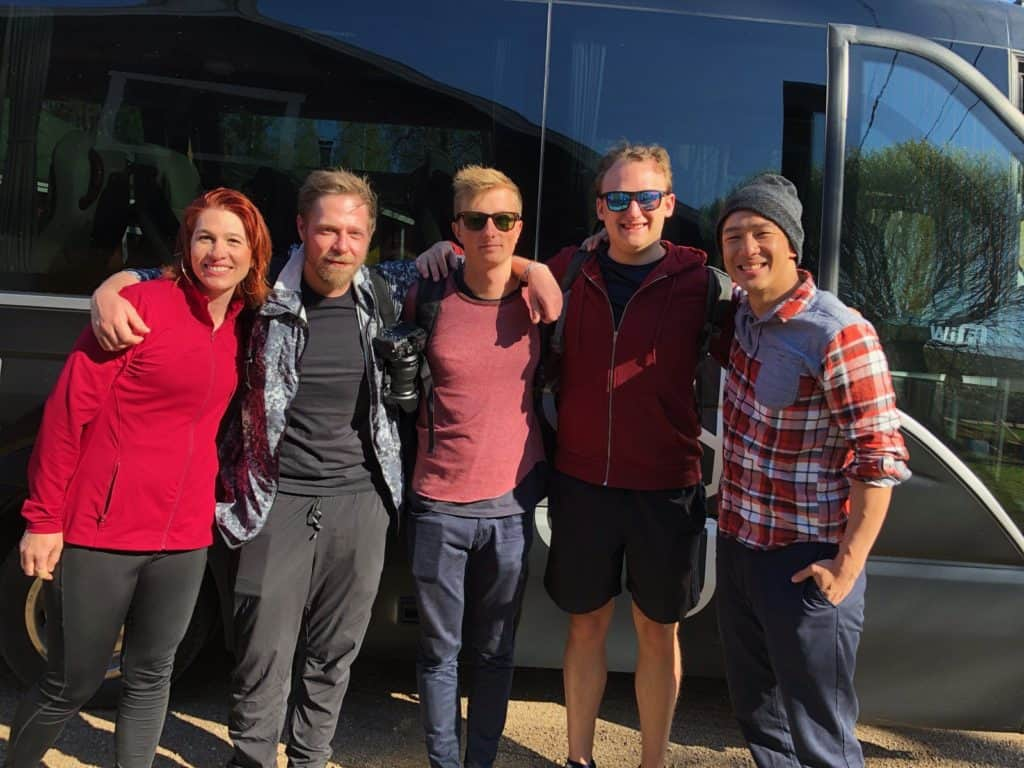 the lahti post-conference crew from ping festival