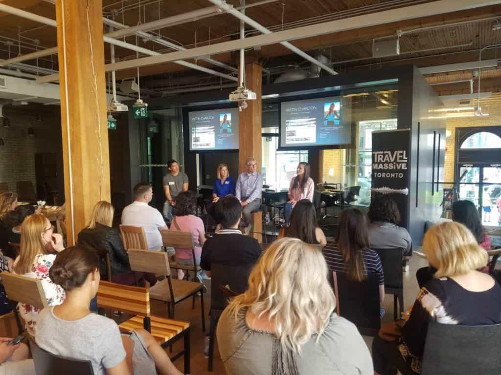 toronto travel massive youtube workshop q&a panel