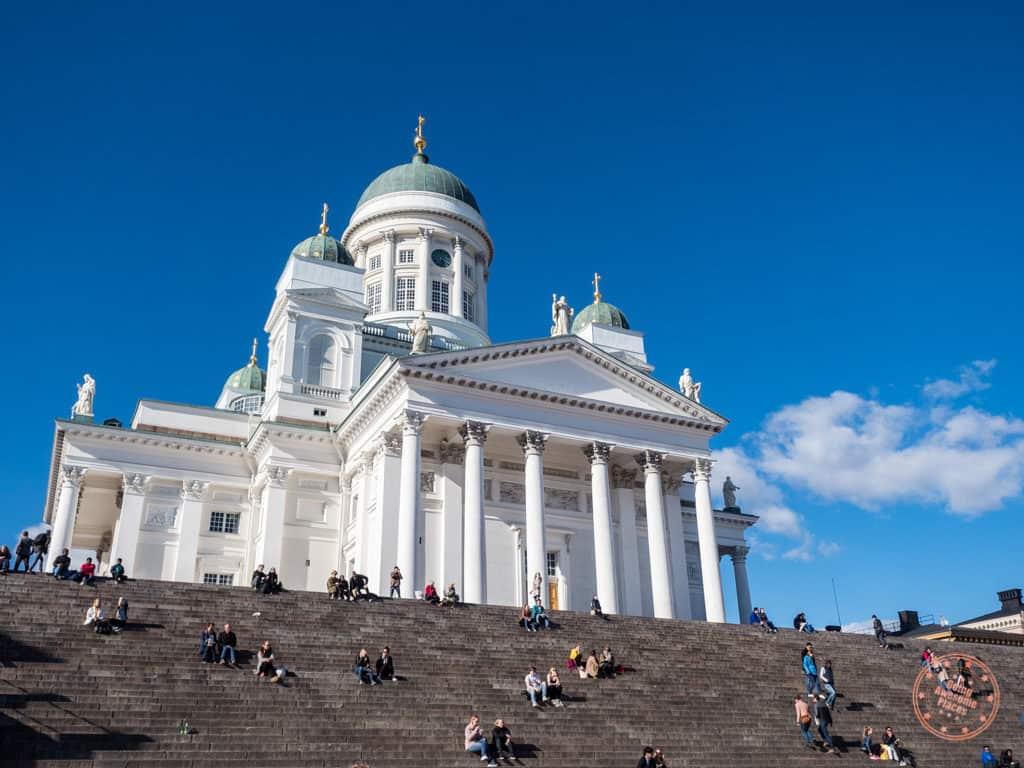 steps of helsinki cathedral