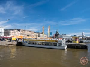 canal route cruise in helsinki