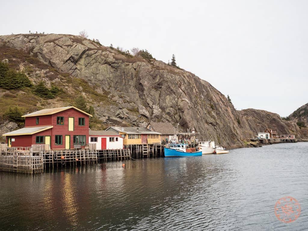 quidi vidi harbour in st john's newfoundland