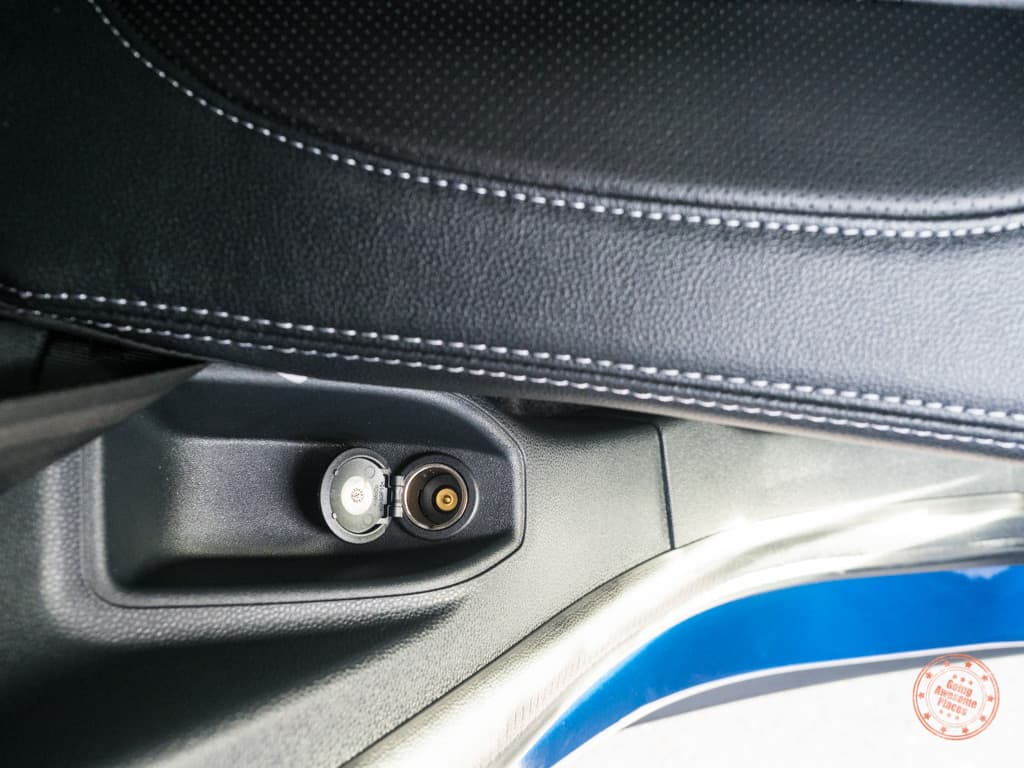 handy car adapter for the rear passengers of the ford ecosport