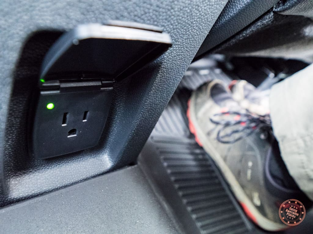12V outlet in the ford ecosport