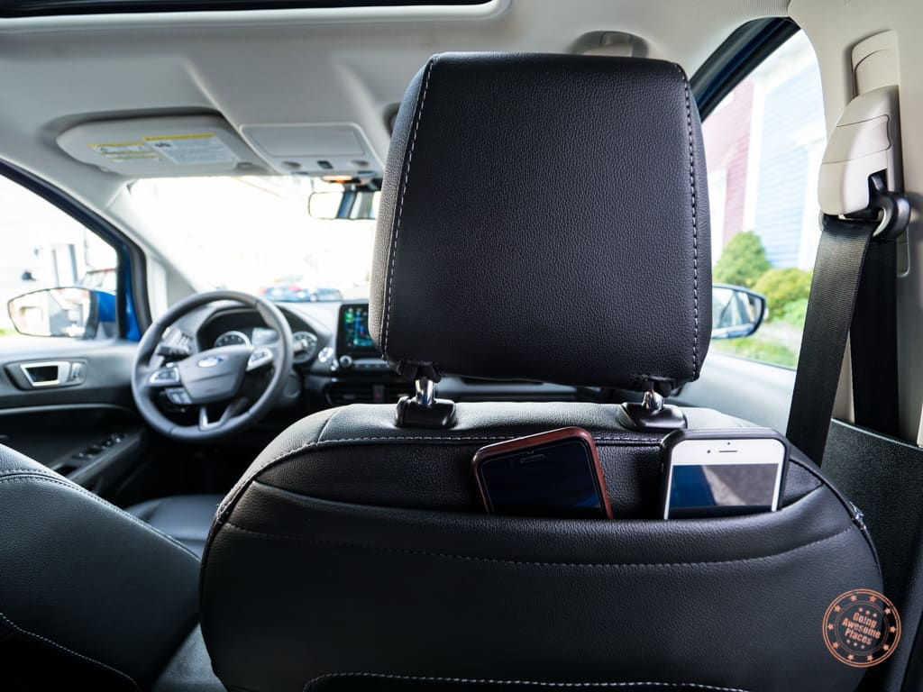 tablet holder in the ford ecosport