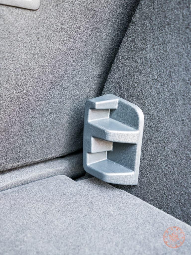 shelfing mechanism on the ford ecosport