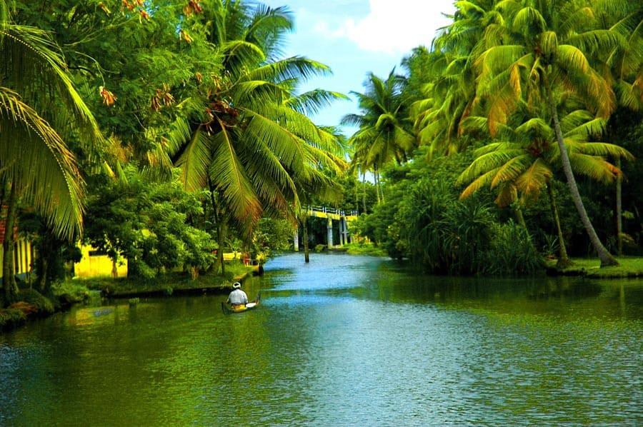 rivers of kerala india