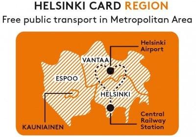 helsinki card region upgrade map